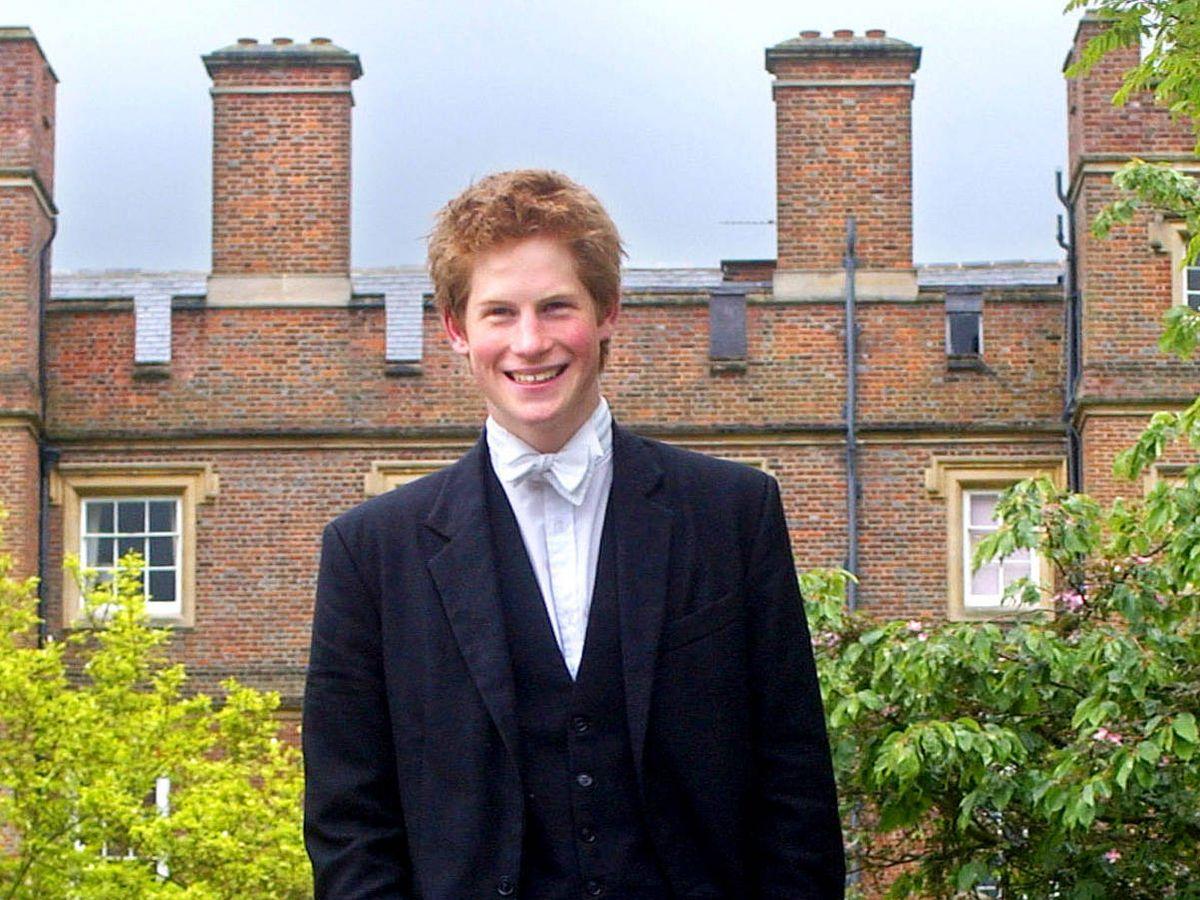 Foto:  El príncipe Harry, en Eaton. (Getty)