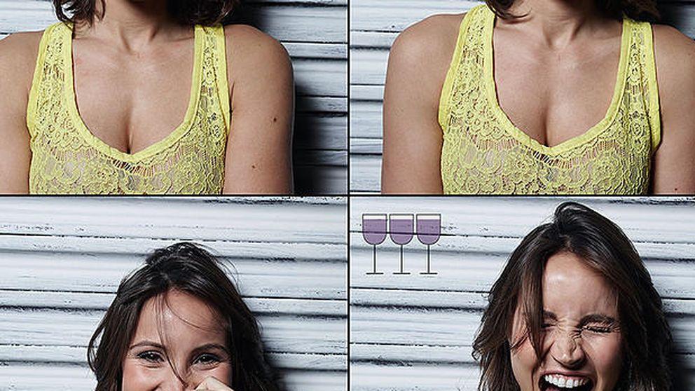 Así cambia la cara después de beber una, dos y tres copas de vino