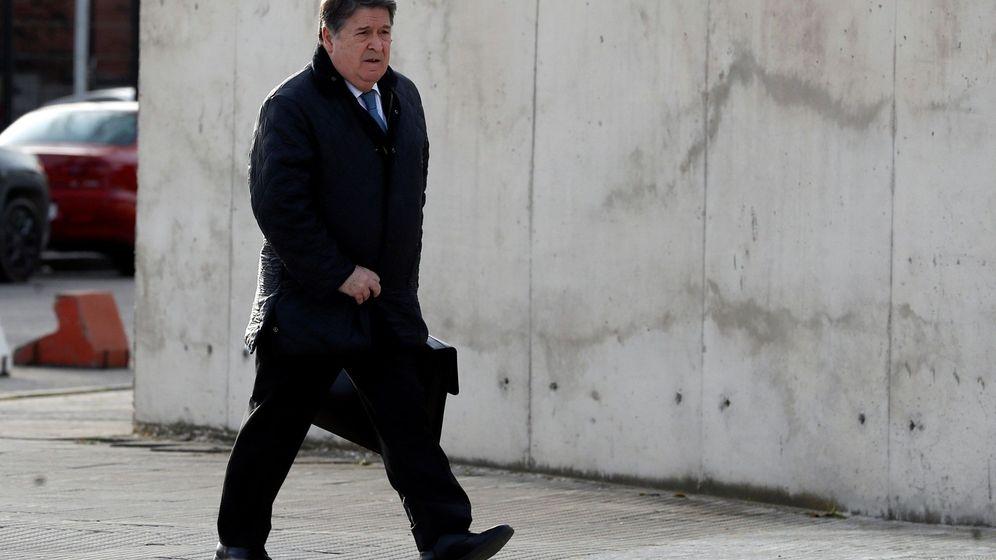 Foto: José Luis Olivas, expresidente de Bancaja, en la Audiencia.
