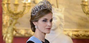Post de La flor de lis, la prusiana... Elige la tiara que mejor le queda a la reina Letizia