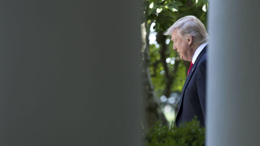 Foto: El presidente de Estados Unidos, Donald Trump, en la Casa Blanca. (Efe)
