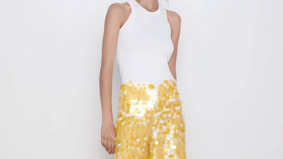 El pantalón de lentejuelas que no sabías que querías pero quieres es de Zara