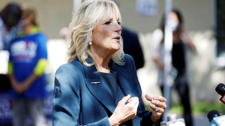 Jill, con las perlas. (Reuters)
