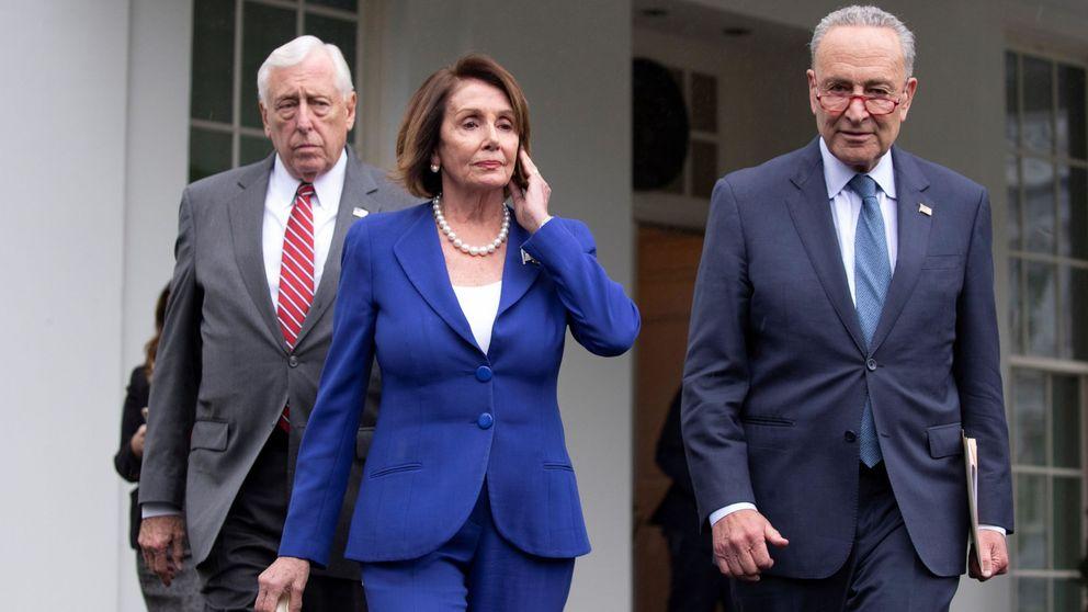Los demócratas abandonan una reunión con Trump: ¡Ha perdido los papeles!
