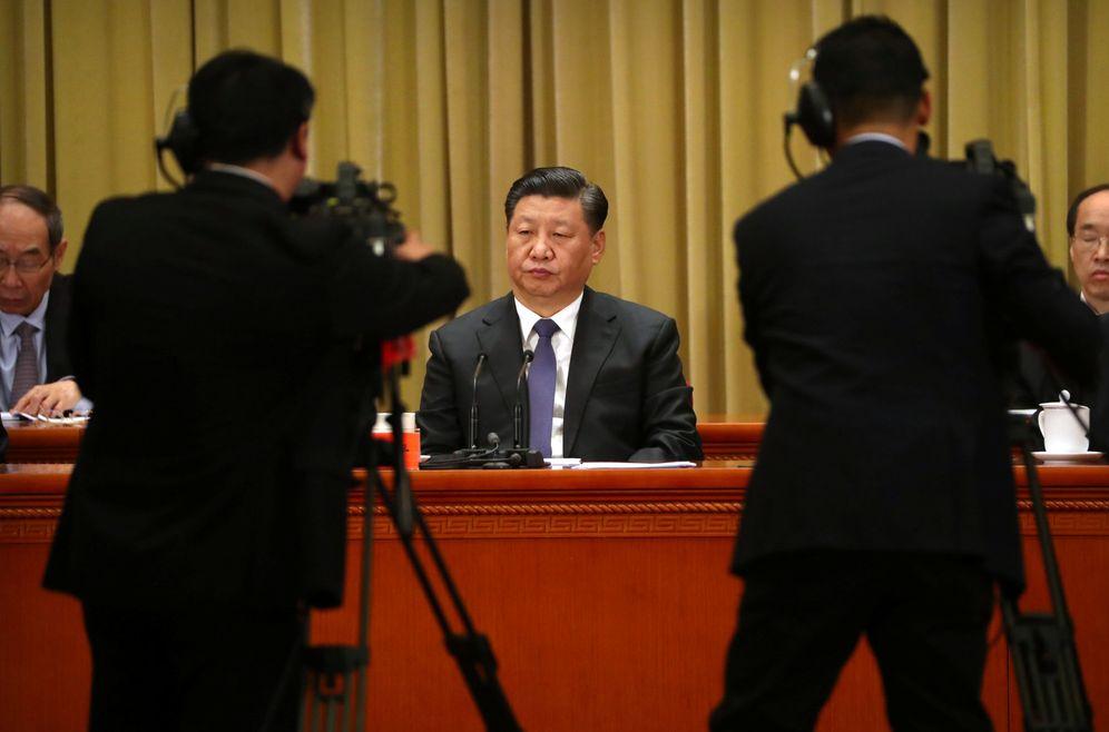 Foto: El presidente chino Xi Jinping en el Gran Palacio del Pueblo de Pekín. (Reuters)
