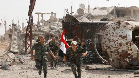 El ejército de Asad avanza en Yarmuk