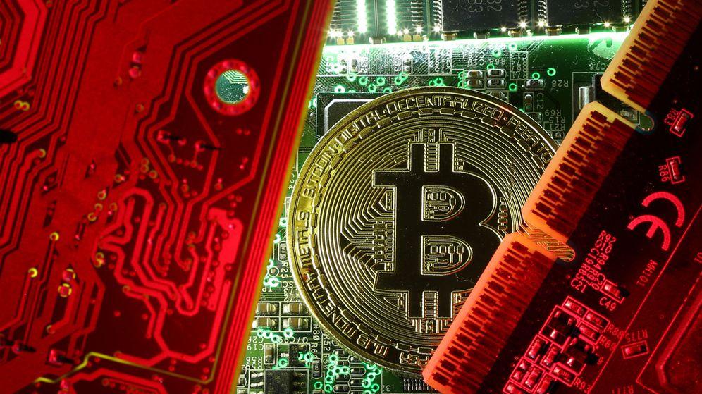 Foto: Infografía sobre Bitcoin (Reuters)