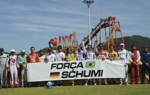 """Schumacher, una semana """"en paz"""" y rodeado de incertidumbre"""