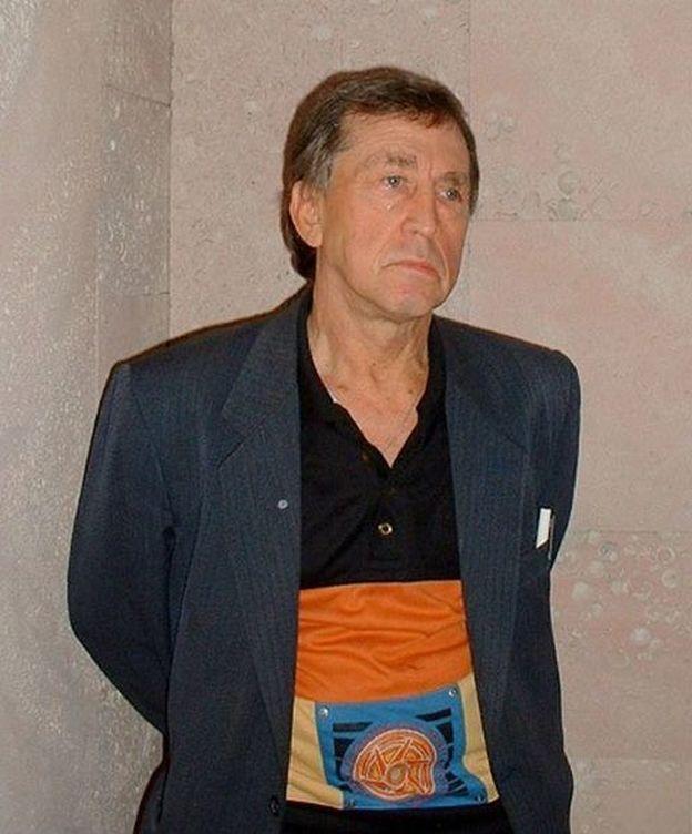 Foto: Anatoli Bugorski, años después del accidente.