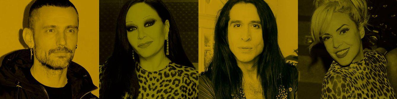 La otra familia de Bimba Bosé: David Delfín, Alaska, Mario Vaquerizo...