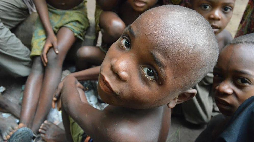 Foto: Niños pigmeos de la República del Congo (Foto: C. Fornellino Romero/Survival)
