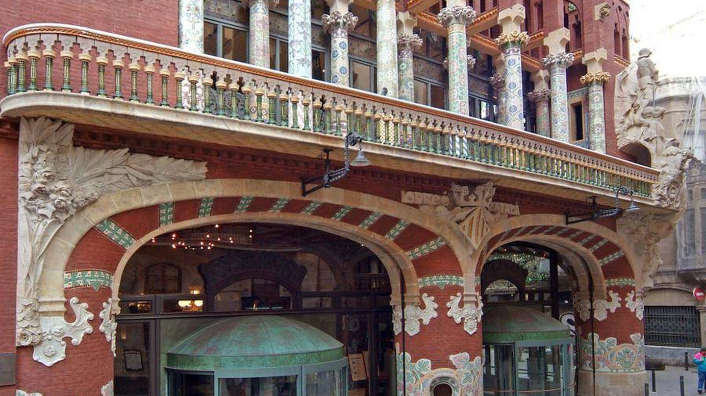 El Palau de la Música es una de las joyas del modernismo catalán. (Palau de la Música)