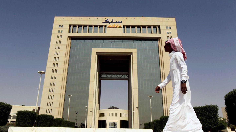 El cuartel general de Sabic en Riad. (Reuters)