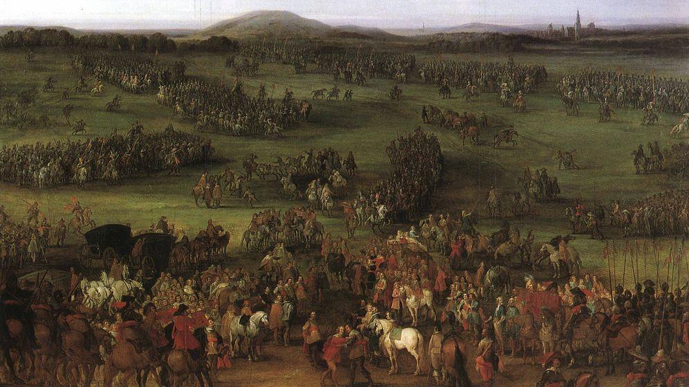 Foto: El conflicto, según el pintor Pieter Meulener.