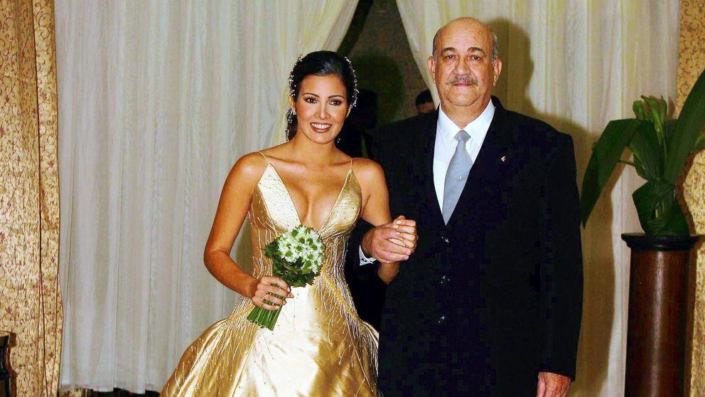 Virginia Troconis da el último adiós a su padre, Luis Gerardo Candia