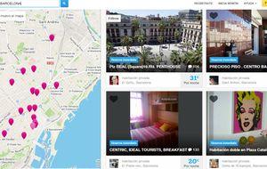 Cataluña multa a Airbnb por ofrecer pisos turísticos ilegalmente
