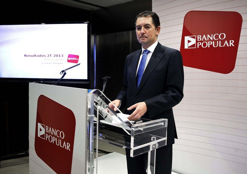 Foto: El consejero delegado del Banco Popular, Francisco Gómez (EFE)
