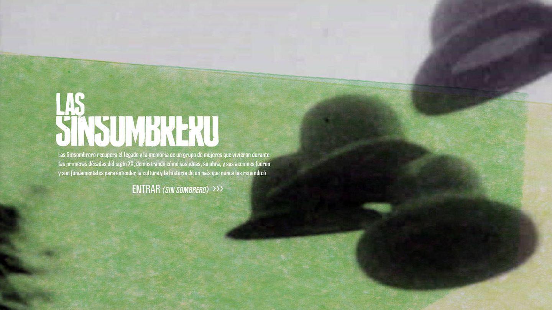 Cartel de 'Las Sinsombrero'.