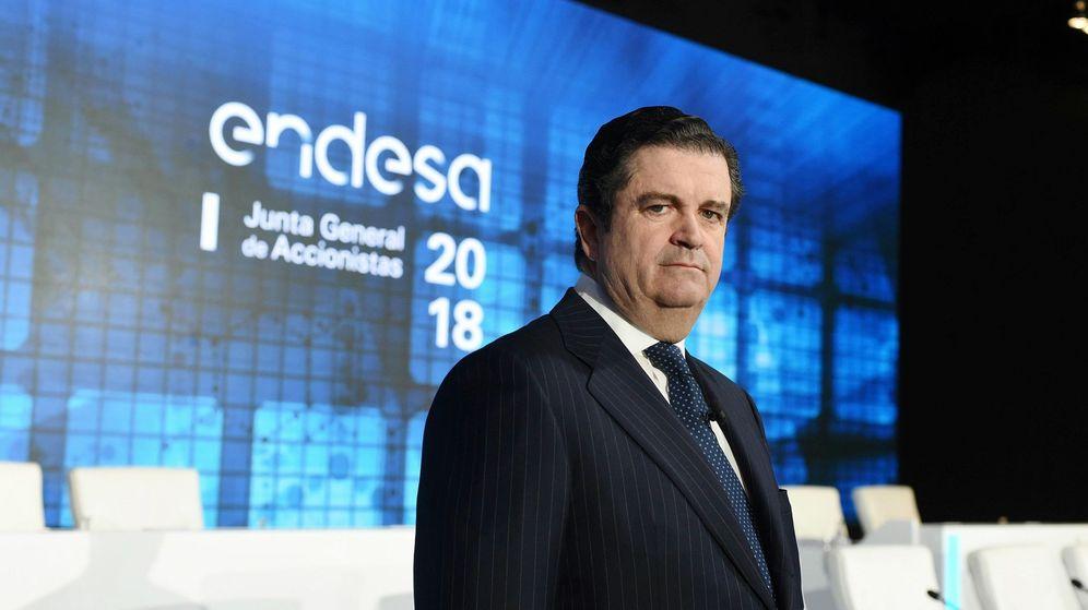 Foto: El hasta hoy presidente de Endesa Borja Prado. (EFE)