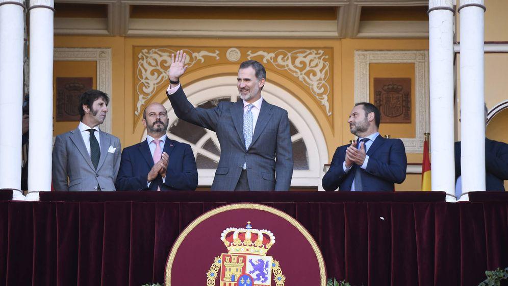 Foto: Felipe VI en la corrida de la Beneficiencia. (Limited Pictures)