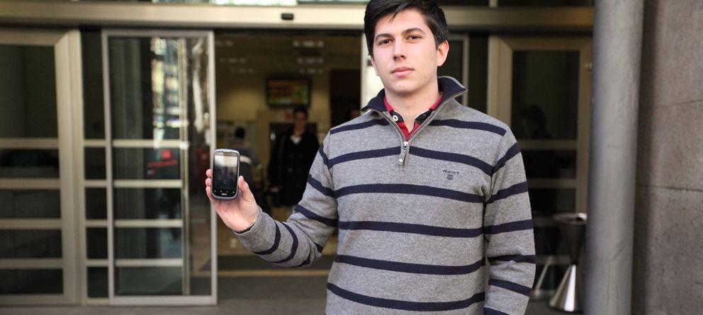 Foto: Javier Agüera, uno de los emprendedores tras Blackphone