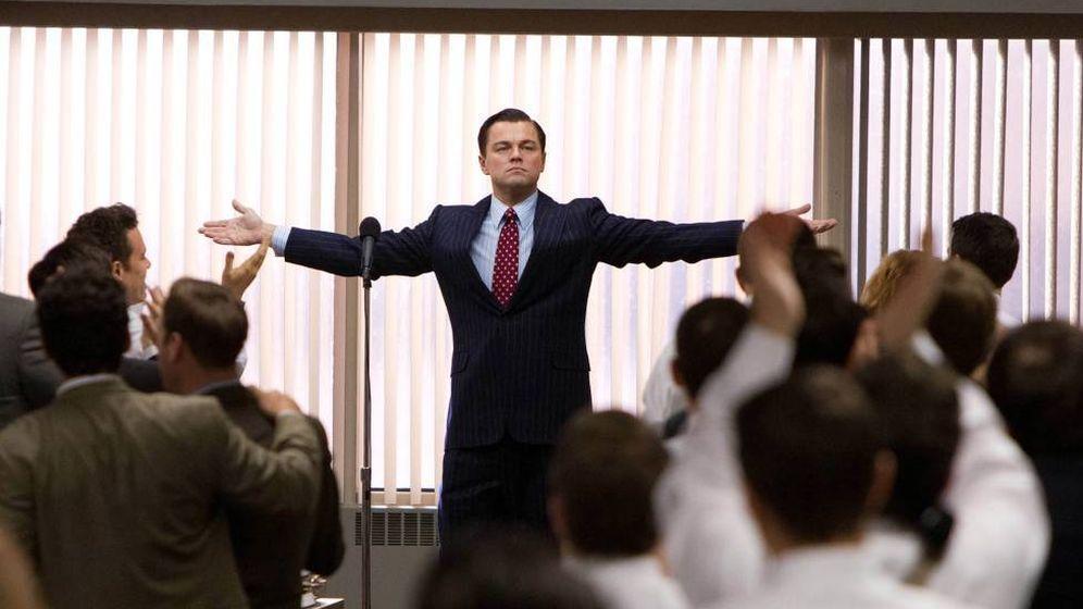 Foto: Leonardo DiCaprio en una de las escenas de 'El lobo de Wall Street'.