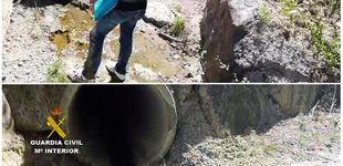 Post de La Guardia Civil investiga un vertido de amoniaco ilegal en el río Oria en Guipúzcoa