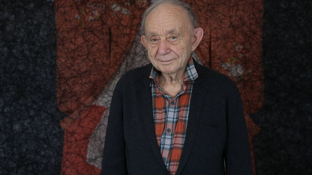 Foto: Frederick Wiseman, leyenda viva del documental, en su reciente visita a España. (ECAM)