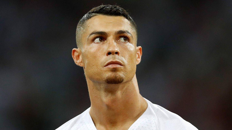 La prueba gráfica de que Cristiano Ronaldo llevó perilla. (Getty)