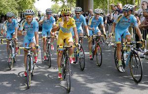 La UCI no da licencia World Tour al Astana tras sus casos de dopaje