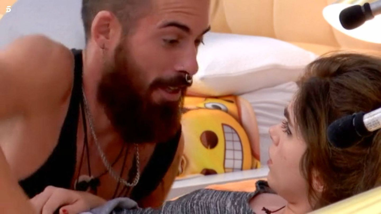 José María y Carlota, en 'GH 18'. (Mediaset España)