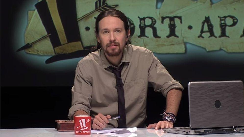 Foto: El líder de Podemos, Pablo Iglesias, en el programa 'Fort Apache'. (YouTube)