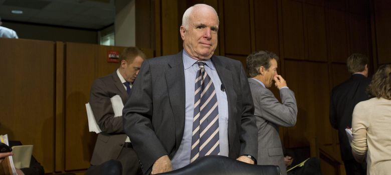 Foto: El Senador Republicano por Arizona, John McCain (EFE)