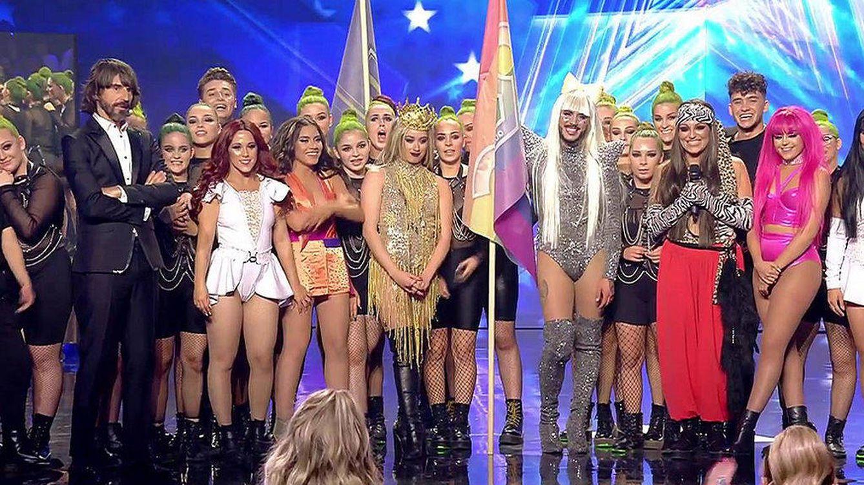 La inesperada sorpresa de Alejandro Sanz a QDS Megacrew ('Got Talent España')