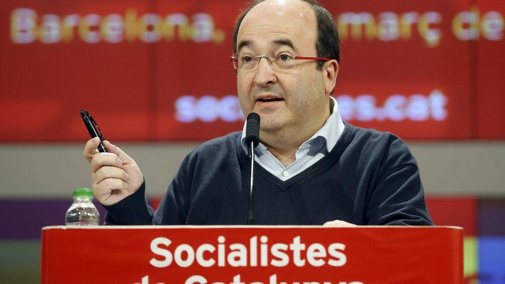 Foto: El primer secretario del PSC, Miquel Iceta (EFE)