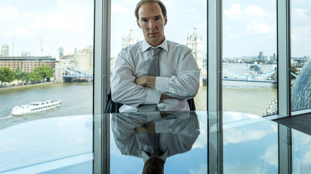 Foto: El actor Benedict Cumberbatch, en la serie 'Brexit'. (HBO)