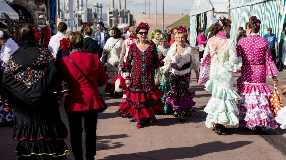 Foto: Imagen de archivo de la Feria de Abril en Barcelona. (EFE)
