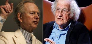 Post de ¿Por qué Tom Wolfe destroza a Noam Chomsky en su último libro?