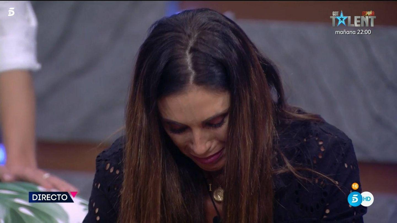 Isabel Rábago, en 'Secret Story'. (Mediaset)