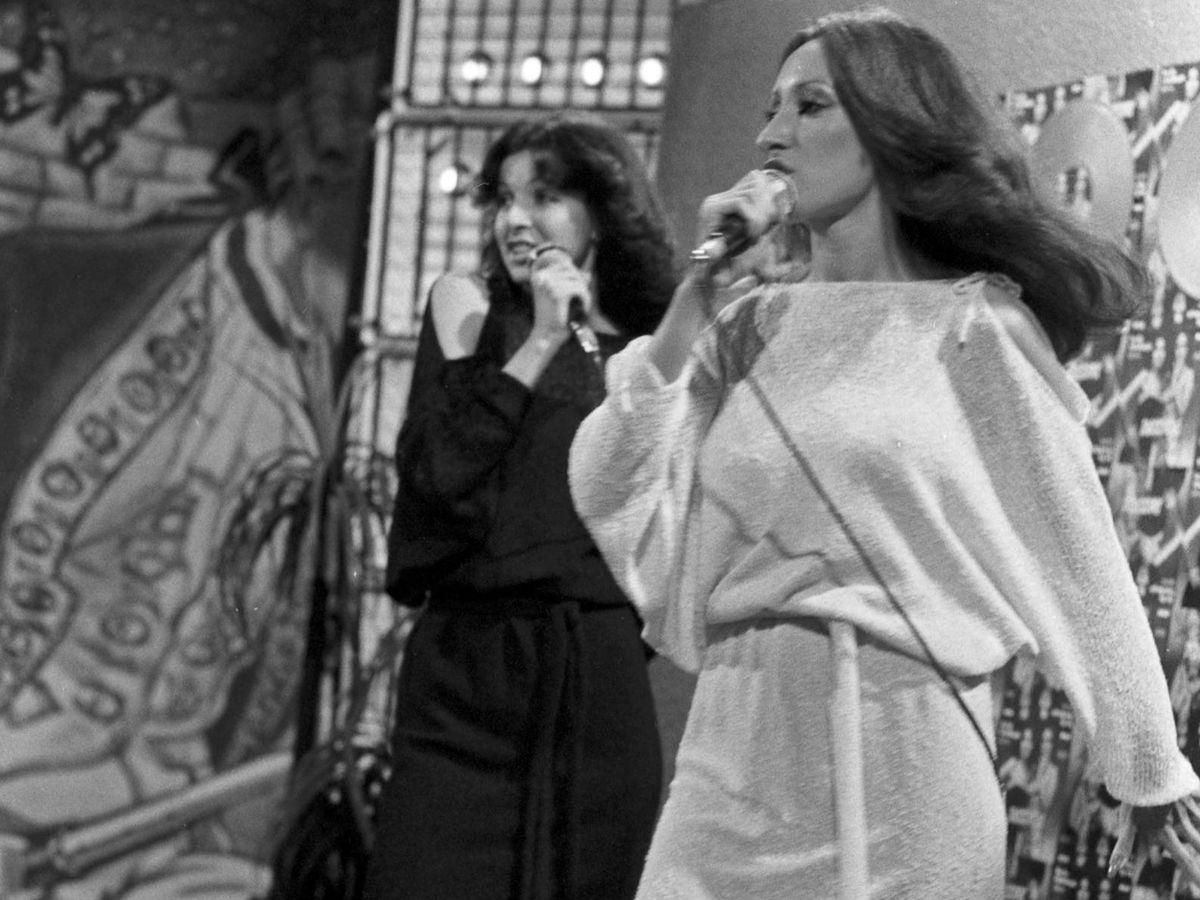 Foto: Actuación del dúo Baccara en Alemania. (Cordon Press)