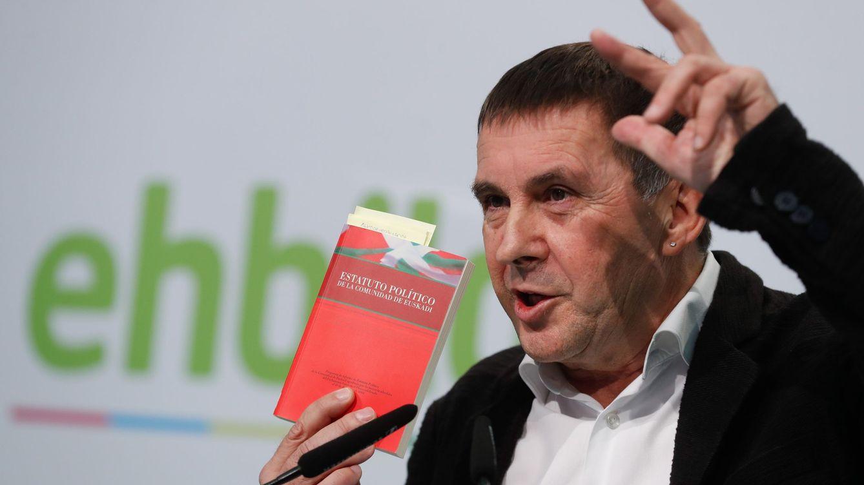 Otegi reclama al Estado una mesa de diálogo para abordar el problema nacional vasco