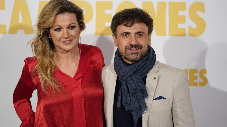 Jose Mota y su mujer, en un estreno en Madrid. (Cordon Press)