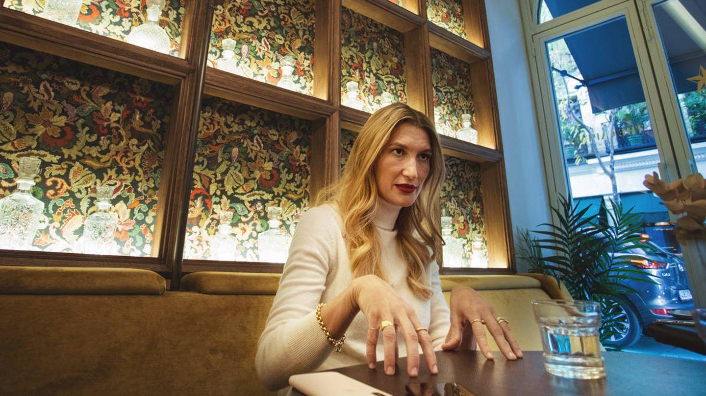 Stella Penn, en el hotel Wipton. (Jorge Álvaro Manzano)