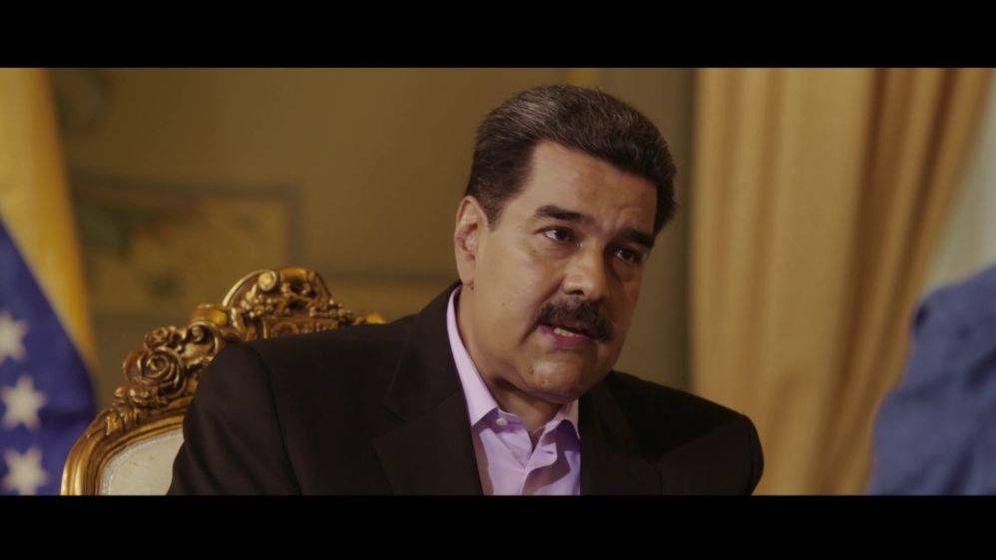 Foto: Nicolás Maduro en un momento de la entrevista. (La Sexta)