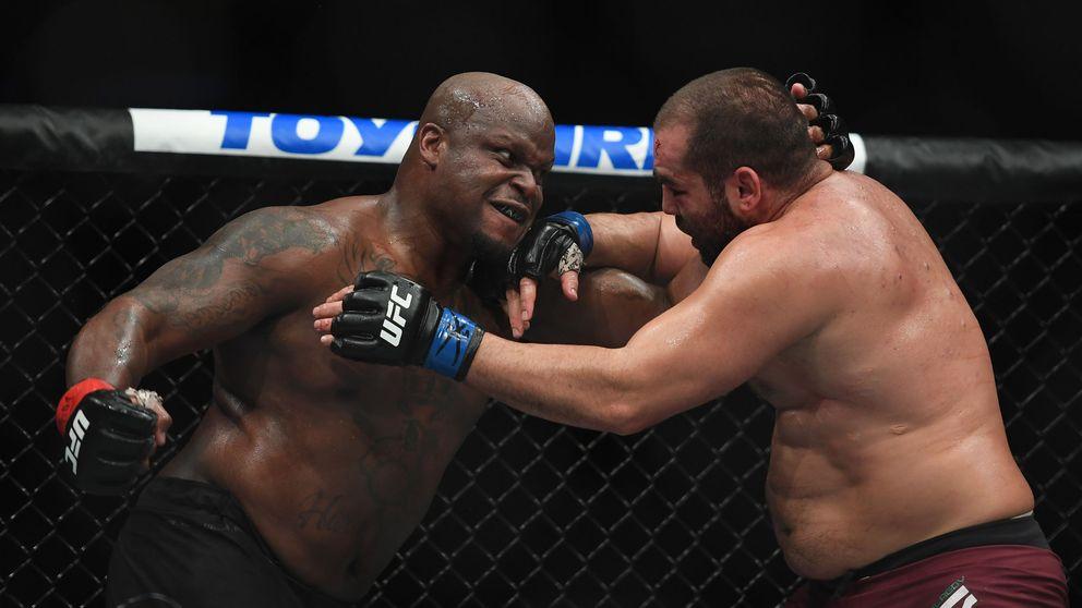 UFC Vegas 6 : el brutal KO de 'La bestia negra' Lewis a 'La boa constrictor' Oleinik