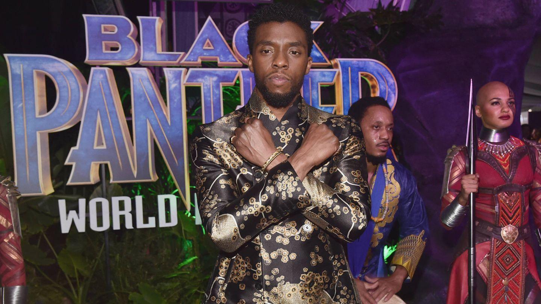 El actor, en el estreno de 'Black Panther'. (Getty)