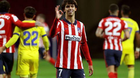 Joao Félix, un líder para el Atlético más goleador de la era Cholo frente al Cádiz (4-0)