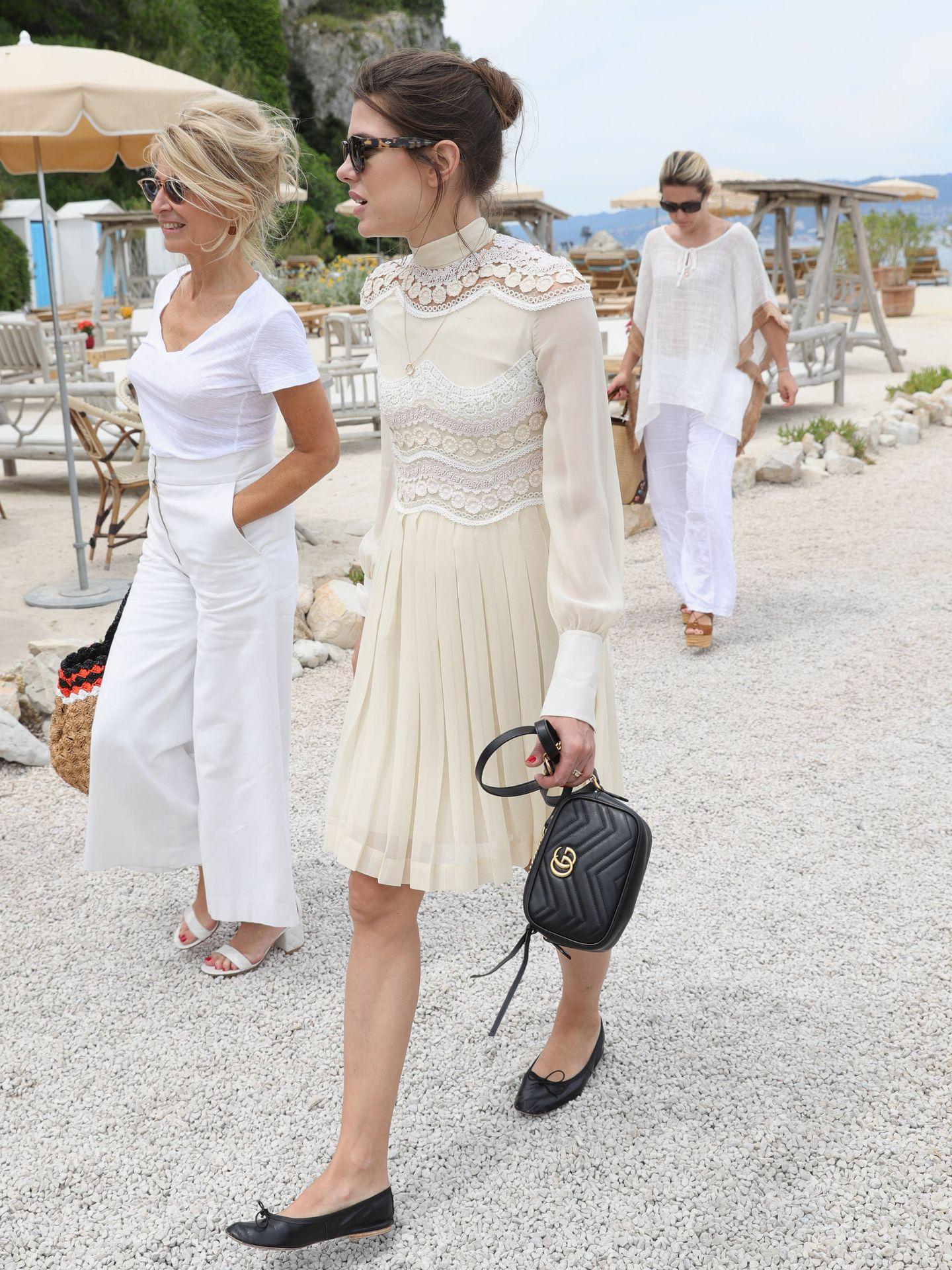 Carlota Casiraghi, presumiendo de bailarinas en Cannes. (Getty)