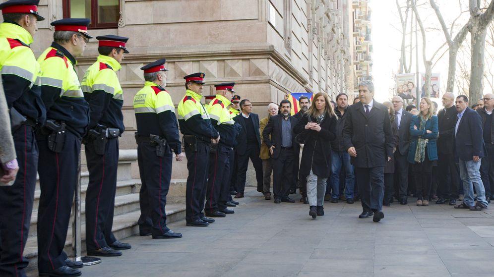 Foto: Francesc Homs llega a declarar. (EFE)