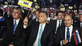 Eslovenia se 'orbaniza': el eje iliberal europeo se afianza (con ayuda del líder húngaro)